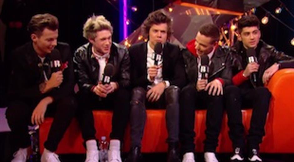 Backstage: One Direction chats post-BRITs 2013