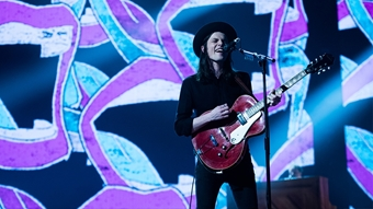 James Bay performs 'Hold Back The River'
