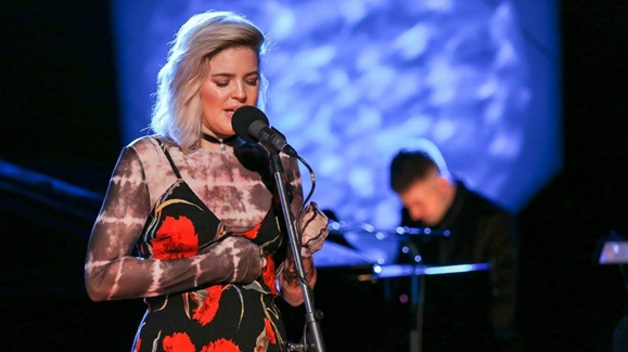 Anne-Marie Performing Live at Abbey Road.