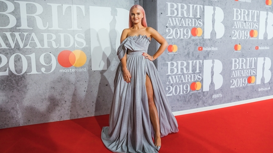 Grace Chatto on The BRITs 2019 Red Carpet