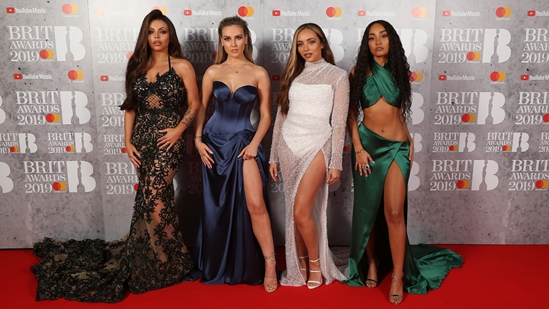 Little Mix on The BRITs 2019 Red Carpet