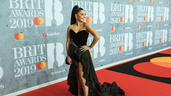 Mabel on The BRITs 2019 Red Carpet