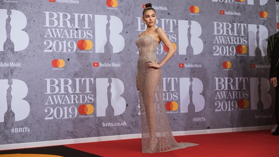 Madison Beer on The BRITs 2019 Red Carpet