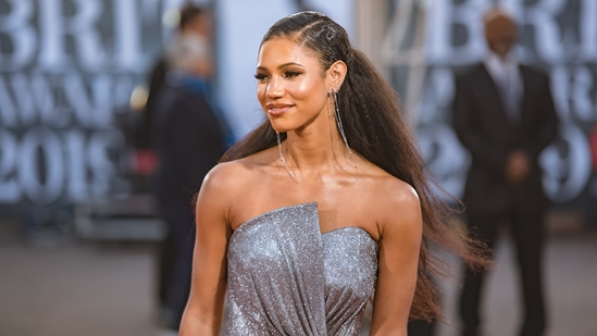 Vick Hope on The BRITs 2019 Red Carpet