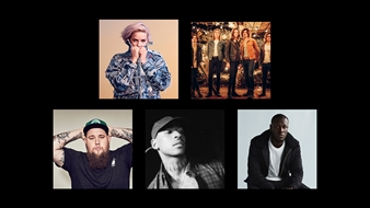 Anne-Marie, Blossoms, Rag'N'Bone Man, Skepta and Stormzy are nominated for British Breakthrough