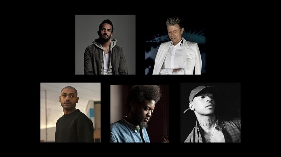 Craig David, David Bowie, Kano, Michael Kiwanuka and Skepta are nominated for British Male