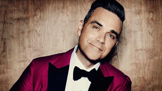 2016 press shot of Robbie Williams
