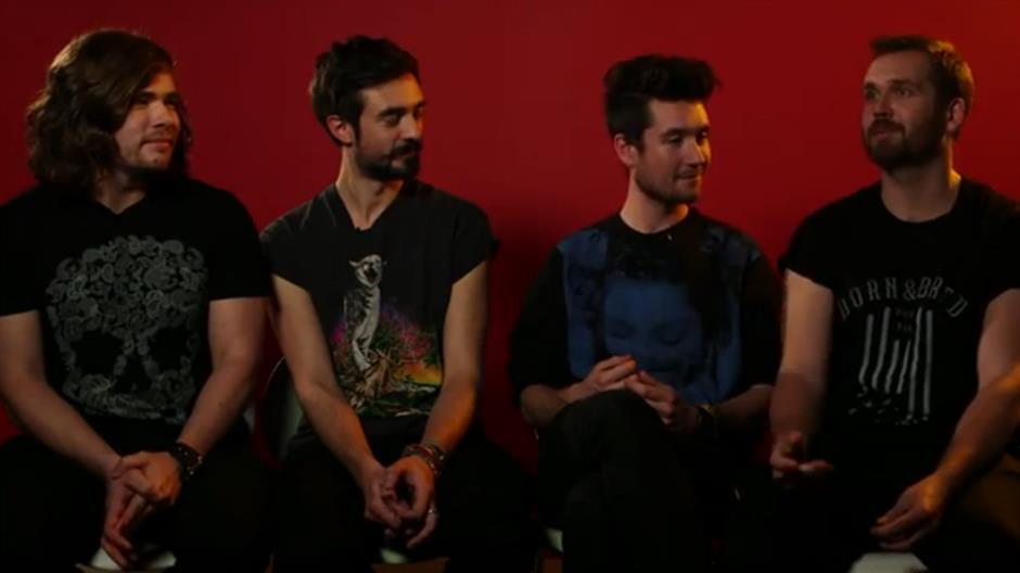 Bastille discuss their four BRITs 2014 nominations