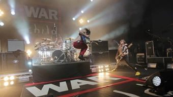 Biffy Clyro performing at BRITs Week with War Child 2017