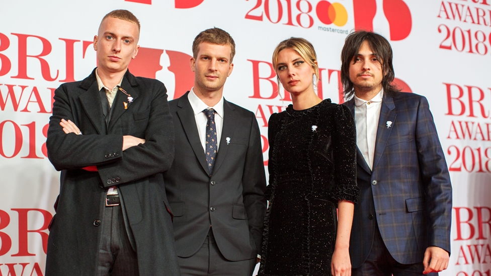 Wolf Alice on The BRITs 2018 Red Carpet