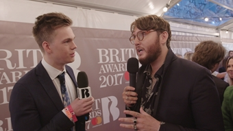 Caspar Lee - 'What The Duck?' Red Carpet Special | The BRIT<span class='lowercase'>s</span> 2017