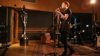 Chlöe Howl performing 'Disappointed' at Abbey Road