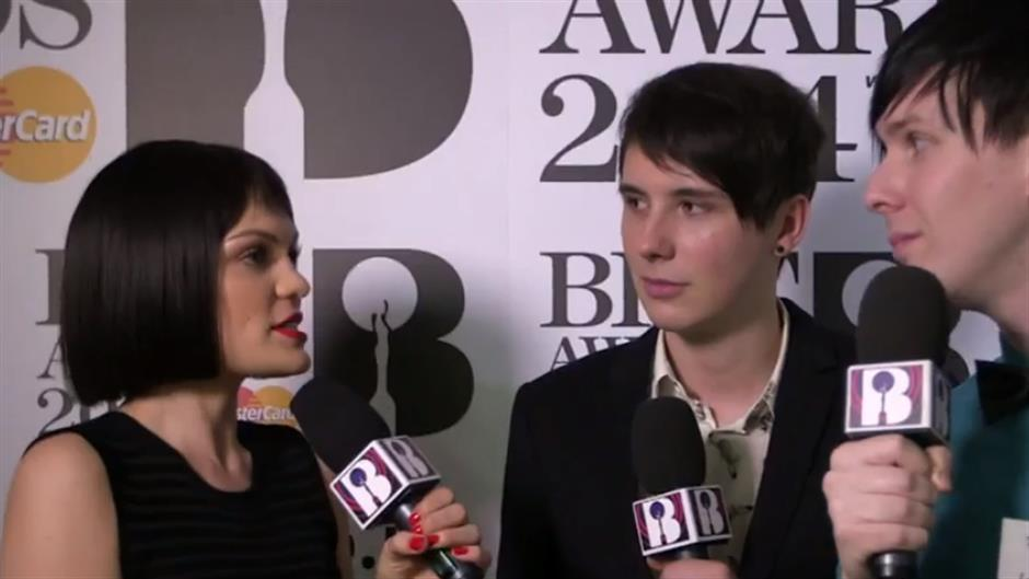 Jessie J with Dan & Phil