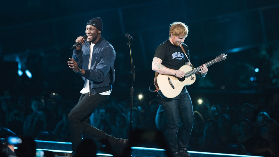 Ed Sheeran and Stormzy