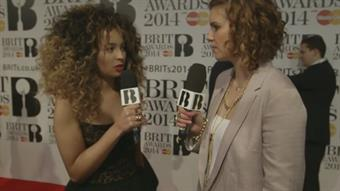 Ella Eyre on the Red Carpet