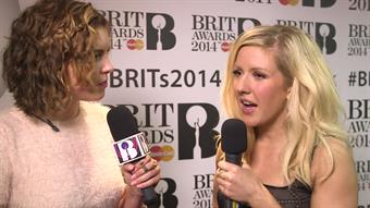 Ellie Goulding on the Red Carpet