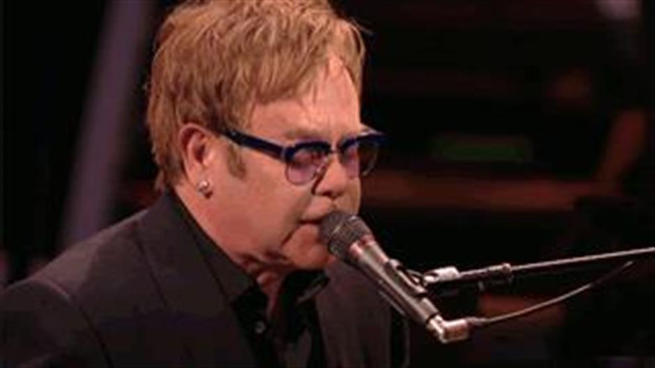 Elton John BRITs Icon 2013 Highlights