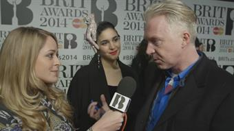 Fleur with Philip Treacy on the Red Carpet