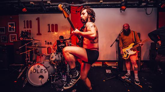 IDLES, photo by Luke Dyson