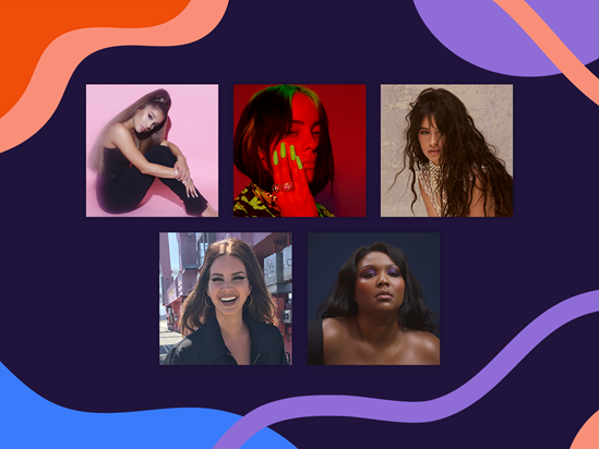International Female Solo Artist nominees announced!