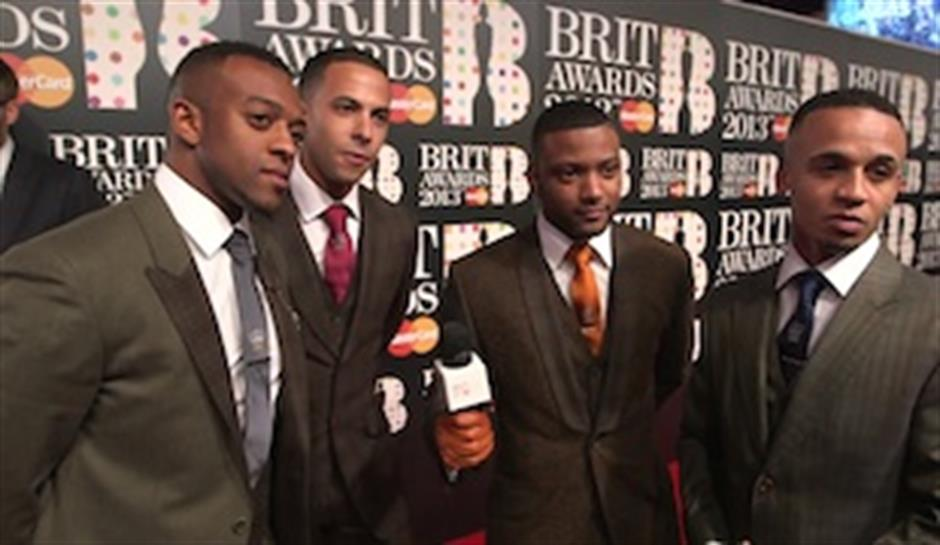 On the Red Carpet: JLS