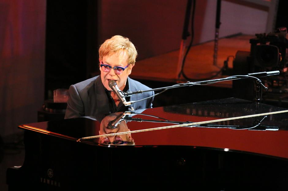 Elton John honoured with BRITs Icon Award