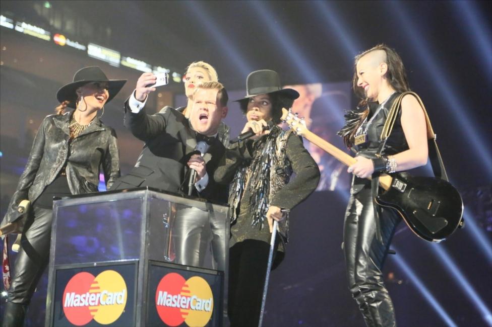 James Corden, Prince & 3RDEYEGIRL | BRITs 2014