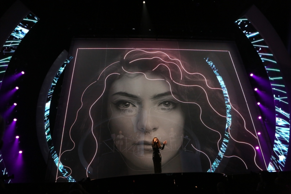 Lorde and Disclosure | BRITs 2014
