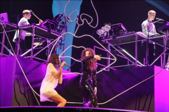 Disclosure, AlunaGeorge And Lorde | BRITs 2014