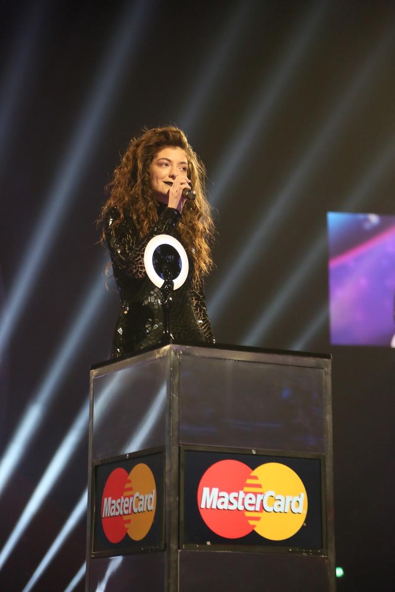 Lorde | BRITs 2014