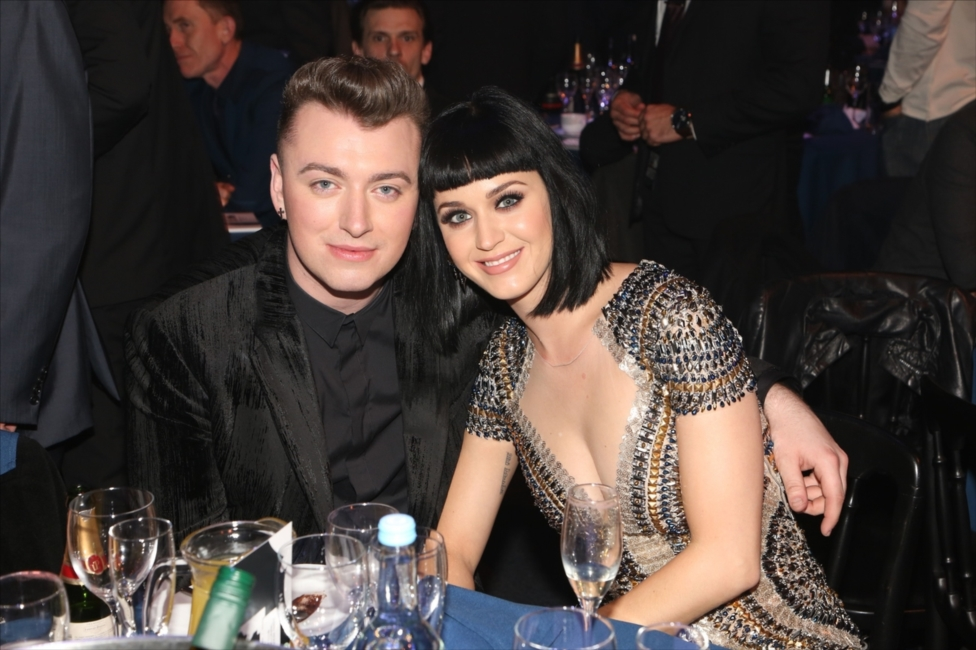Sam Smith & Katy Perry | BRITs 2014