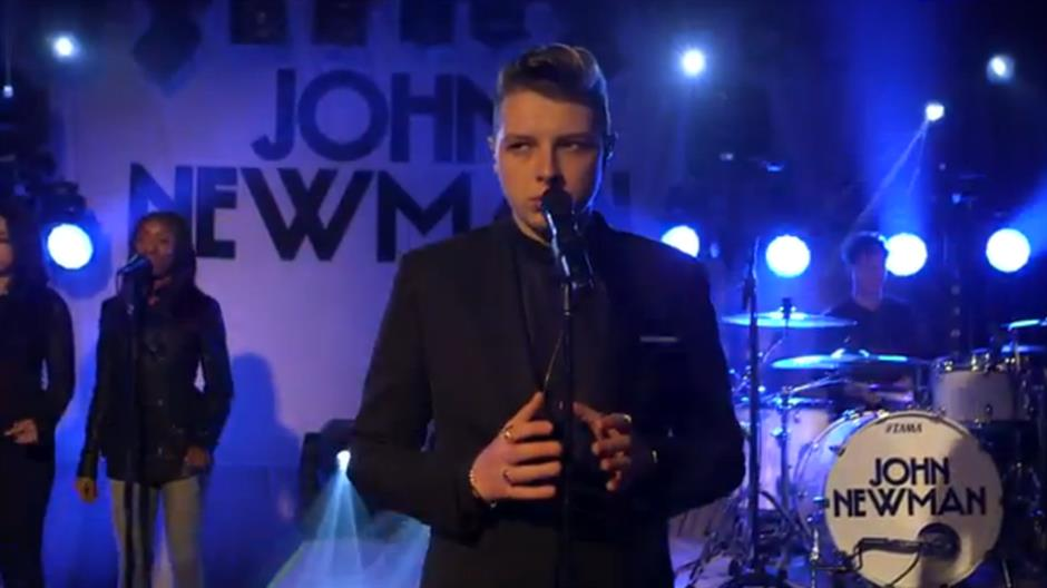 John Newman performs 'Love Me Again'