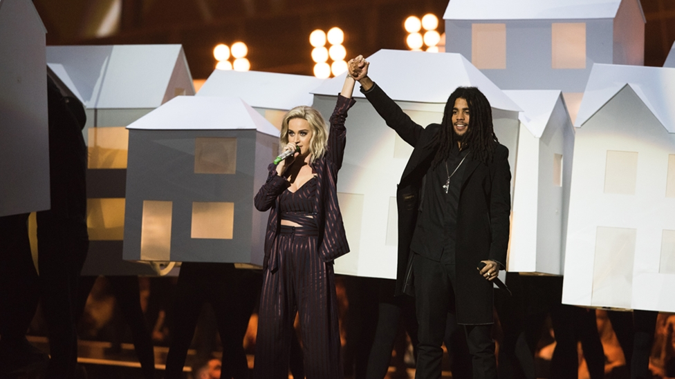Katy Perry and Skip Marley