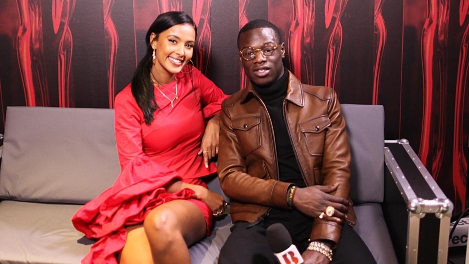 J Hus Interview with Maya Jama