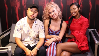 Jax Jones & Raye Interview with Maya Jama