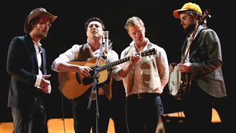 Mumford & Sons perform 'Timshel' Live