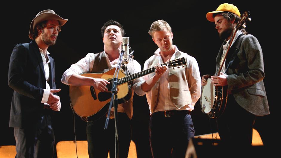 Mumford & Sons perform 'Timshel' Live