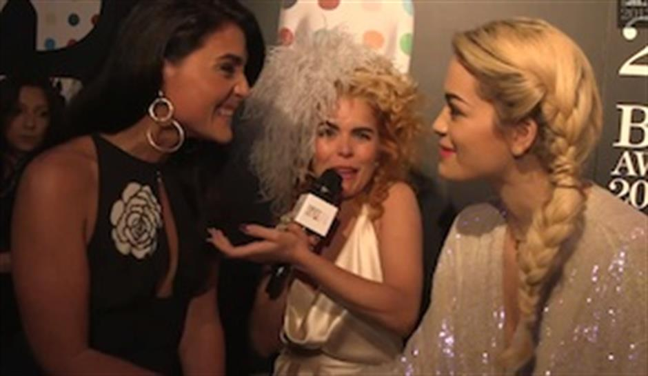 From the Red Carpet: Paloma Faith, Nick Grimshaw & Jessie Ware