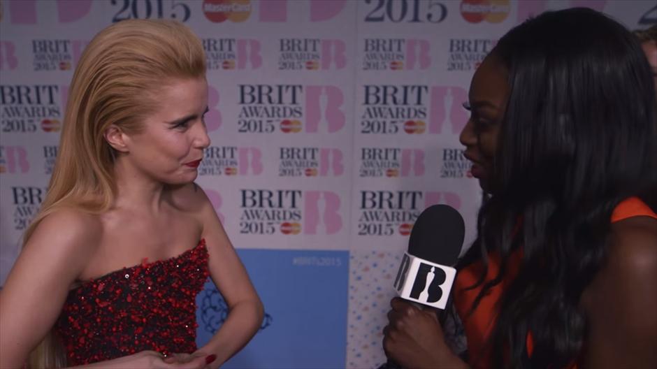 Red Carpet fashion - BRITs 2015
