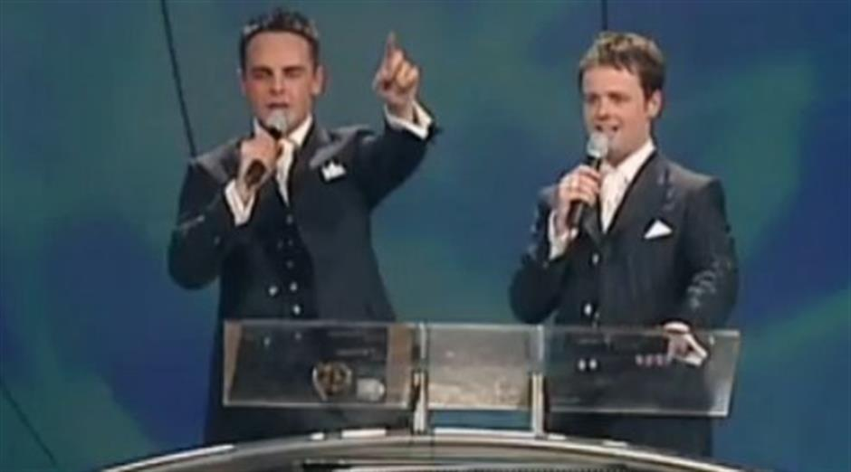 2001 - Conclusion and U2 Introduction from Ant & Dec
