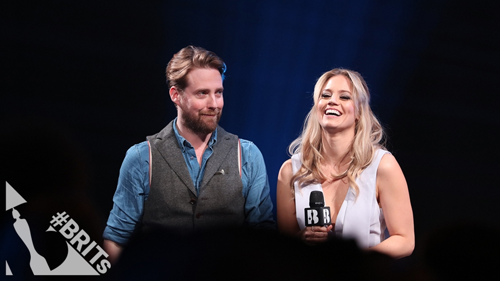 Ricky Wilson and Kimberly Wyatt