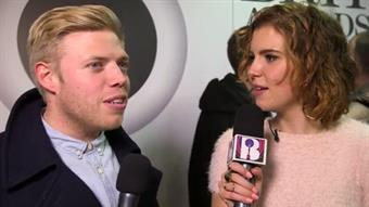 Rob Beckett on the Red Carpet
