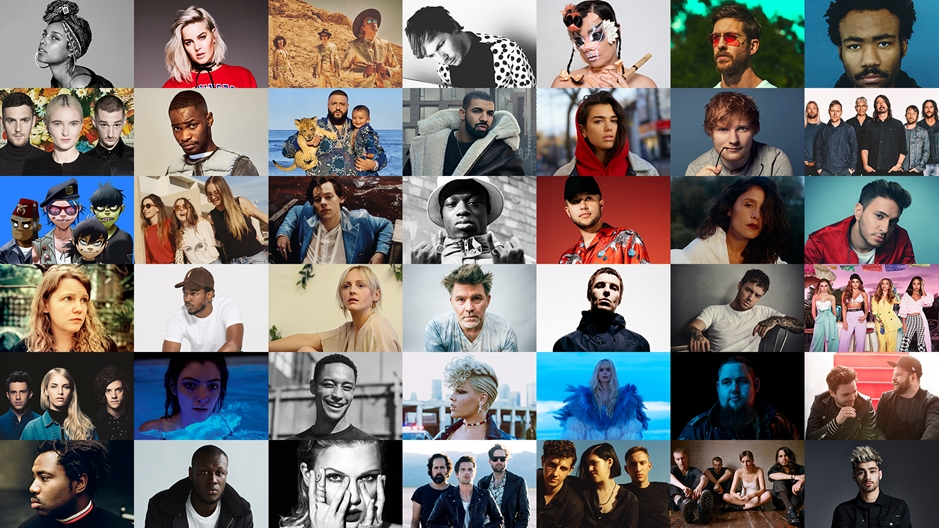 The BRITs 2018 Nominees