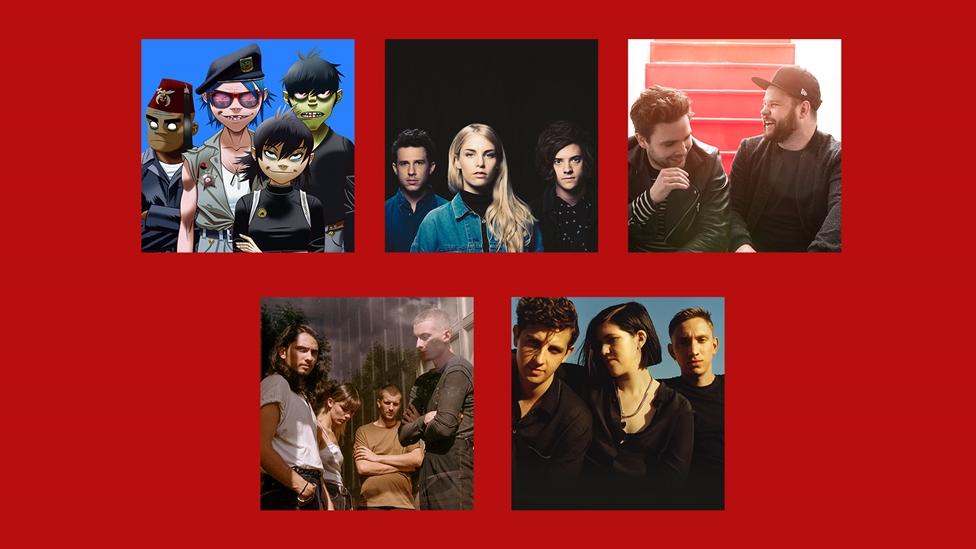 2018 BRIT Award British Group Nominees