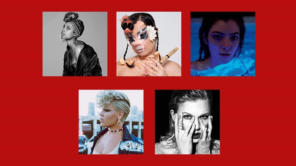 2018 BRIT Award International Female Nominees