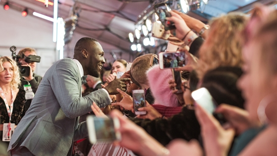 Stormzy on The BRITs 2018 Red Carpet