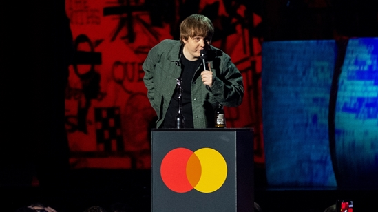 Lewis Capaldi won 2 BRIT Awards
