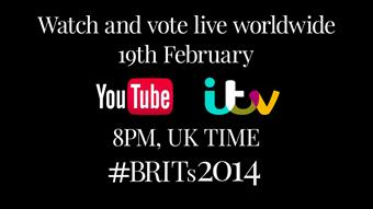 Watch #BRITs2014 live, February 19, 8pm UK time
