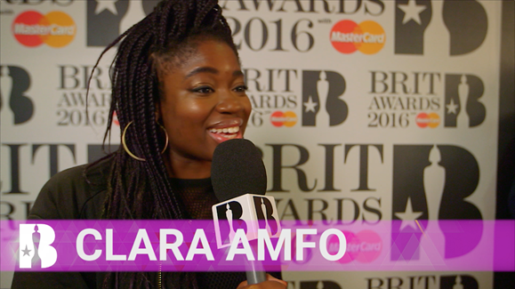 Clara Amfo tries to describe the BRITs to an alien
