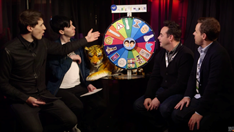 Dan & Phil's Wheel of Wonder with Ant & Dec